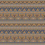 Seamless ethnic pattern. Vector illustration. Can be used for wrapping paper , textile, fabrics, backgrounds Royalty Free Stock Images