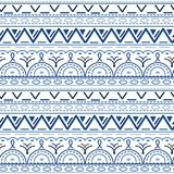 Seamless ethnic pattern. Vector illustration. Can be used for wrapping paper , textile, fabrics, backgrounds Royalty Free Stock Image