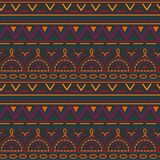 Seamless ethnic pattern. Vector illustration ornament. Seamless ethnic pattern. Vector illustration. Can be used for wrapping paper , textile, fabrics Royalty Free Stock Photography