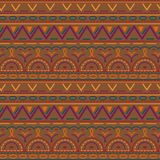 Seamless ethnic pattern. Vector illustration. Can be used for wrapping paper , textile, fabrics, backgrounds Royalty Free Stock Photos