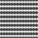 Seamless ethnic pattern vector traditional tribal geometric ornaments black and white background design retro vintage bohemian sty. Le art oriental Stock Image