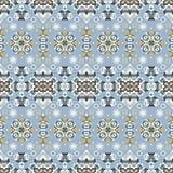 Seamless ethnic patterns Royalty Free Stock Image