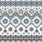 Seamless ethnic patterns Stock Photo