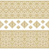 Seamless Ethnic Patterns For Border. Stock Photography