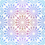 Seamless ethnic texture. Fashion style abstract background, Seamless kaleidoscope montage Stock Images