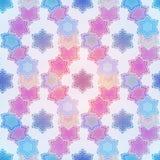 Seamless ethnic texture. Fashion style abstract background, Seamless kaleidoscope montage Stock Photo