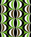 Seamless ethnic tribal design Royalty Free Stock Photography