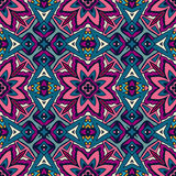 Seamless ethnic tribal indianl Geometric print. Ethnic tribal  festive pattern for fabric. Abstract geometric colorful seamless pattern ornamental. Mexican Royalty Free Stock Images