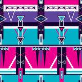 Seamless ethnic tribal pattern ornament Royalty Free Stock Image