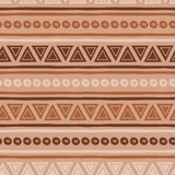 Coffee pattern abstract seamless vector brown ethnic tribal textures in caramel vector illustration
