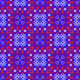 Seamless ethnic vector print pattern. Royalty Free Stock Photography