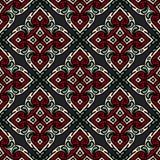 Seamless ethnic vector tiles design Stock Photography