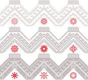 Seamless ethnic zigzag Royalty Free Stock Image