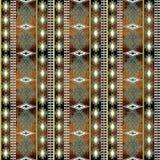 seamless etnisk modell Arkivfoto