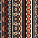 seamless etnisk modell Australisk traditionell geometrisk prydnad vektor illustrationer