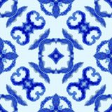 seamless etnisk modell Etnisk bohoprydnad Det abstrakta batikbandet färgade tyg, Shibori att färga upprepa f?r bakgrund vattenf?r vektor illustrationer