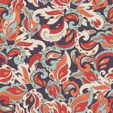 Seamless etno pattern. Stock Images