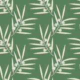 Seamless eucalyptus pattern Royalty Free Stock Image