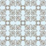 Seamless exotic art pattern Royalty Free Stock Photos