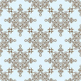 Seamless exotic pattern Stock Images