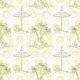 Seamless exotic pattern Stock Photography