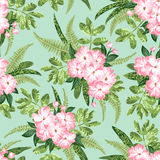 Seamless exotic pattern. Royalty Free Stock Photo