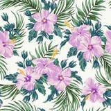 Seamless exotic pattern. stock illustration