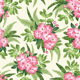 Seamless exotic pattern. Royalty Free Stock Photos