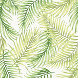 Seamless exotic pattern with tropical leaves. Stock Photography