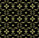 Seamless expensive Victorian pattern. In retro vintage style.  illustration Royalty Free Stock Images