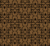 Seamless expensive Victorian pattern in retro vintage style Royalty Free Stock Images