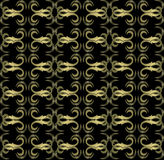 Seamless expensive Victorian pattern in retro vintage. Style. vector illustration Stock Photos