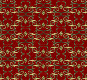 Seamless expensive Victorian pattern in retro vintage Royalty Free Stock Photography