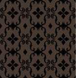 Seamless expensive Victorian pattern in retro vintage. Style. vector illustration Stock Images