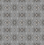 Seamless expensive Victorian pattern in retro vintage Stock Photos