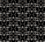 Seamless expensive Victorian pattern in retro vintage Royalty Free Stock Photos