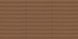 Seamless exterior wood decking texture Stock Photos