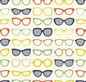Seamless eyeglasses fabric pattern. Seamless fashion eyeglasses fabric pattern Vector Illustration