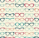 Seamless eyeglasses pattern Royalty Free Stock Photography