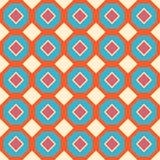 Seamless geometrisk bakgrund Vektor Illustrationer