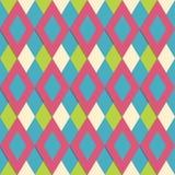 Seamless geometrisk bakgrund Royaltyfri Illustrationer