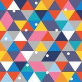Seamless färgrik abstrakt bakgrund Arkivbild