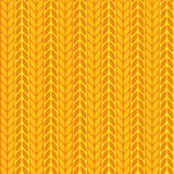 Seamless fabric background. Seamless orange fabric background with pattern vector illustration