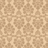 Seamless Fabric Decoration Pattern Walpaper Royalty Free Stock Image