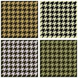 Seamless fabric pattern Stock Photos