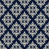 Seamless fabric pattern Stock Image