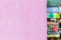 Seamless  fabric pattern Royalty Free Stock Photography