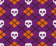 Seamless fabric pattern. Stock Photography
