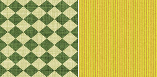 Seamless fabric pattern Stock Image