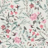 Seamless fairy floral pattern Royalty Free Stock Image